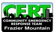 Frazier Mountain CERT network forming