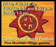 Center of the World Festival: Where creativity, song and humor save the world, one surprise at a time