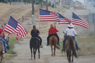 The Ride to Remember through Cuddy Valley on 9/11 has become a solemn tradition in the Mountain Communities. Join in as a rider or a walker, or cruise through, pulling over to observe and salute on this 17th anniversary of the attack on America September 11, 2001.