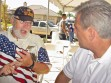Vet meets with congressman on 4th of July