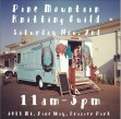 Pine Mountain Knitting Guild and Debbie the yarn truck at Coffee Cantina, Saturday, Nov. 2