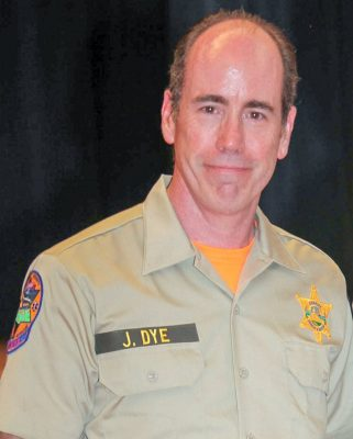 Ventura County Sheriff's Office Search and Rescue Team member Jeff Dye was killed today in an early morning crash on Interstate 5 near Pyramid Lake. He was helping the victims of a rollover accident when he was struck by an out of control car.