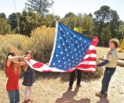 Flag from Washington, D.C. to fly over PMLC