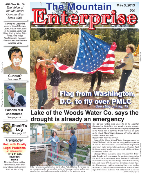 The Mountain Enterprise May 3, 2013 Edition