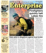 The Mountain Enterprise July 12, 2013 Edition