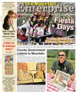 The Mountain Enterprise August 2, 2013 Edition
