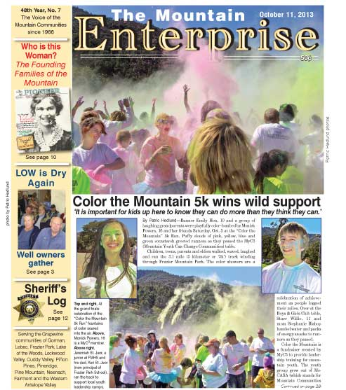 The Mountain Enterprise October 11, 2013 Edition