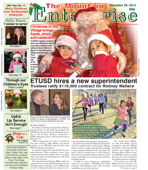 The Mountain Enterprise December 20, 2013 Edition