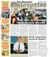 The Mountain Enterprise October 2, 2015 Edition