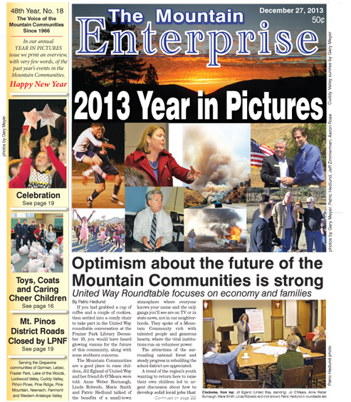 The Mountain Enterprise December 27, 2013 Edition