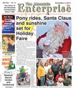 The Mountain Enterprise December 4, 2015 Edition