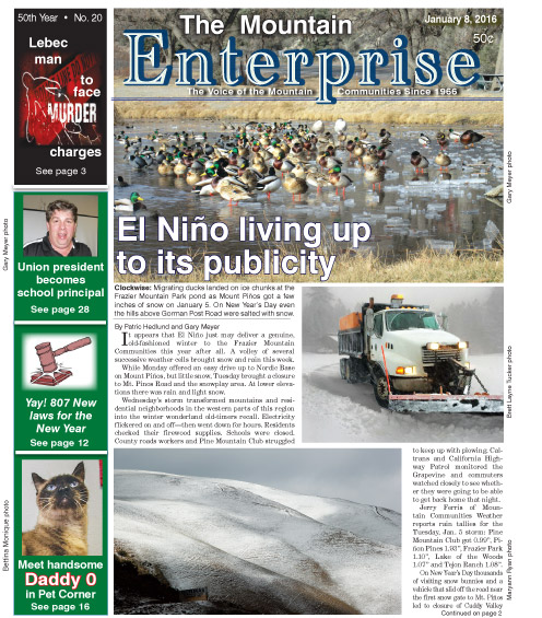 The Mountain Enterprise January 8, 2016 Edition