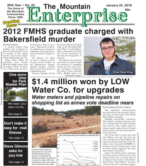 The Mountain Enterprise January 22, 2016 Edition