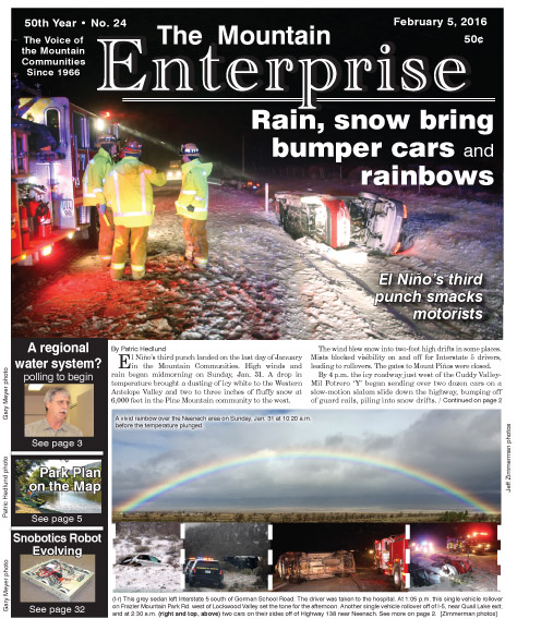 The Mountain Enterprise February 5, 2016 Edition
