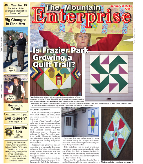 The Mountain Enterprise January 3, 2014 Edition