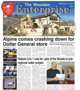 The Mountain Enterprise February 12, 2016 Edition