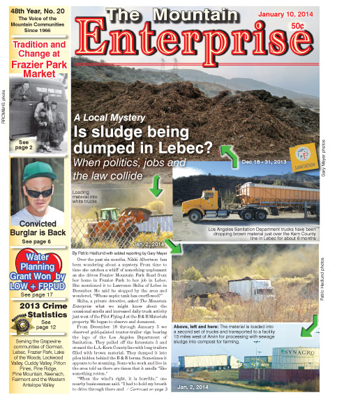 The Mountain Enterprise January 10, 2014 Edition