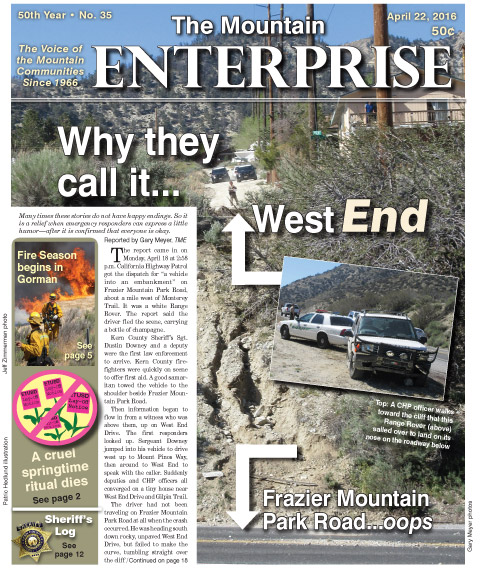The Mountain Enterprise April 22, 2016 Edition