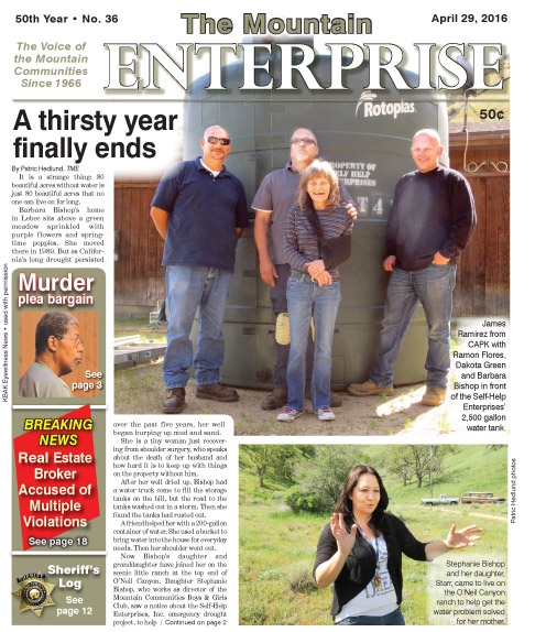 The Mountain Enterprise April 29, 2016 Edition