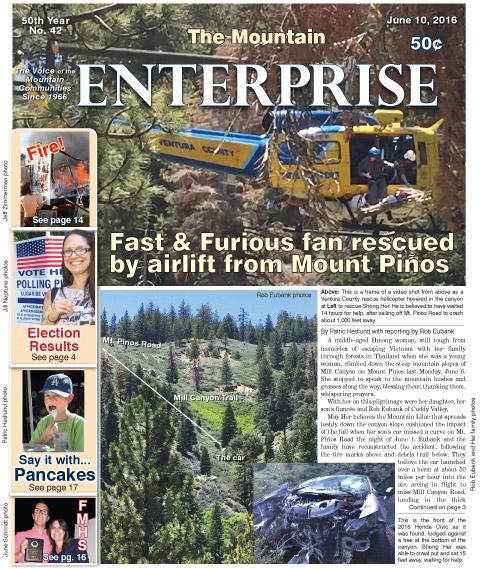 The Mountain Enterprise June 10, 2016 Edition