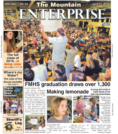 The Mountain Enterprise June 17, 2016 Edition