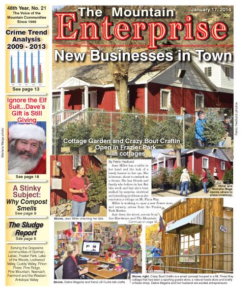 The Mountain Enterprise January 17, 2014 Edition