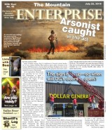 The Mountain Enterprise July 22, 2016 Edition