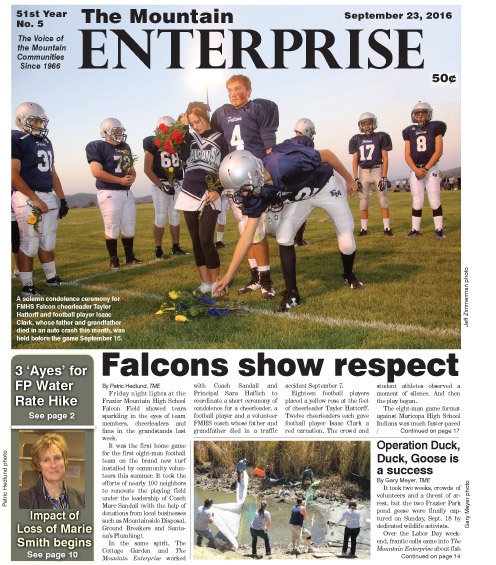 The Mountain Enterprise September 23, 2016 Edition