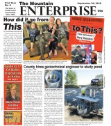 The Mountain Enterprise September 30, 2016 Edition