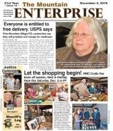 The Mountain Enterprise December 2, 2016 Edition