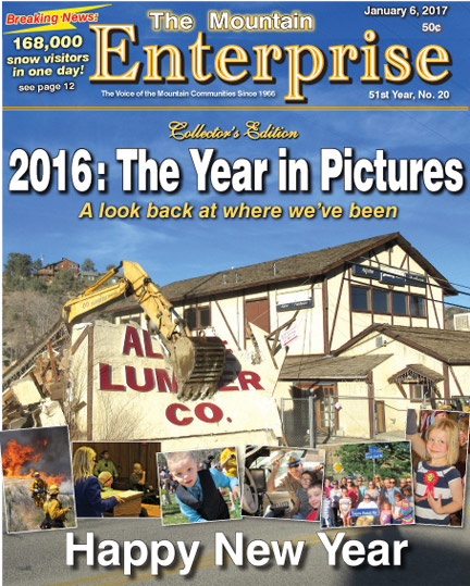 The Mountain Enterprise January 6, 2017 Edition