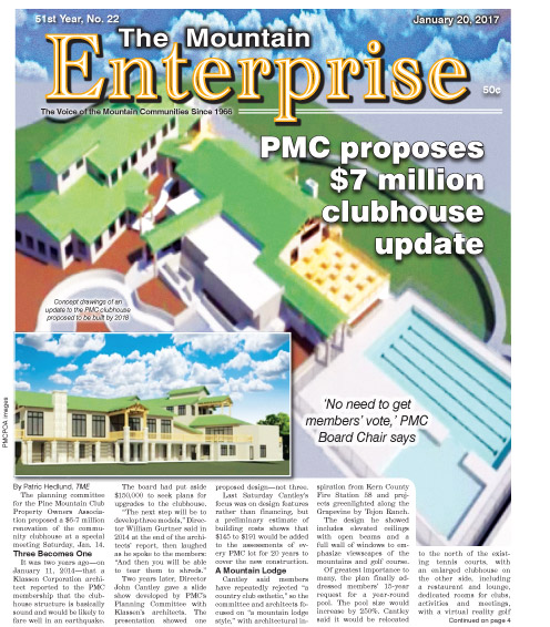 The Mountain Enterprise January 20, 2017 Edition