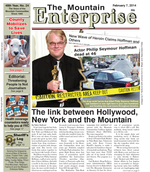 The Mountain Enterprise February 7, 2014 Edition