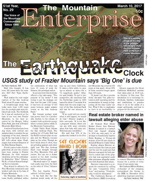 The Mountain Enterprise March 10, 2017 Edition