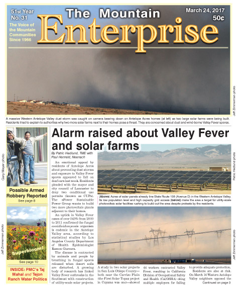 The Mountain Enterprise March 24, 2017 Edition