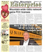 The Mountain Enterprise February 14, 2014 Edition