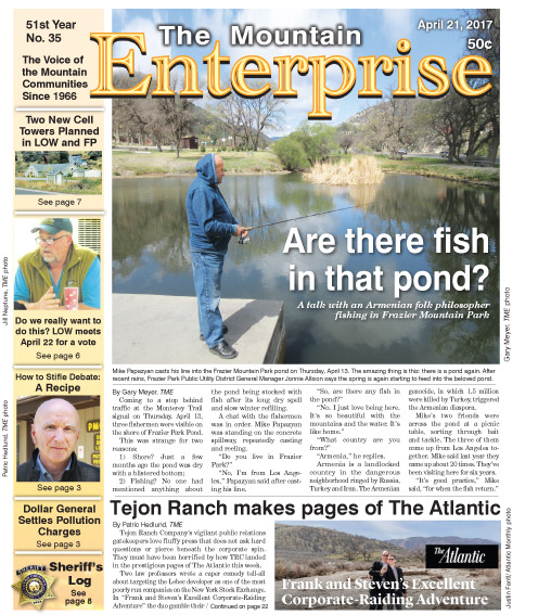 The Mountain Enterprise April 21, 2017 Edition