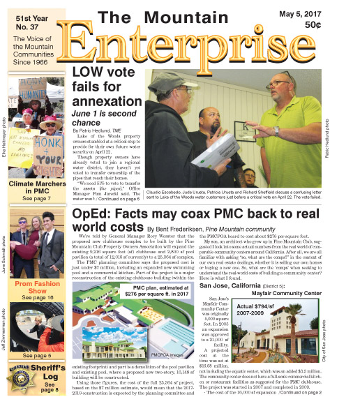 The Mountain Enterprise May 5, 2017 Edition