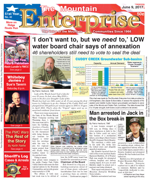 The Mountain Enterprise June 9, 2017 Edition