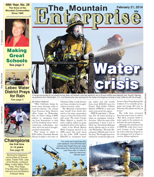 The Mountain Enterprise February 21, 2014 Edition