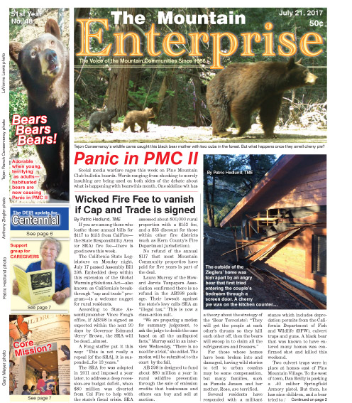 The Mountain Enterprise July 21, 2017 Edition