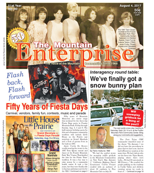 The Mountain Enterprise August 4, 2017 Edition