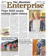 The Mountain Enterprise September 1, 2017 Edition