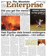 The Mountain Enterprise September 15, 2017 Edition