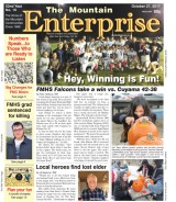 The Mountain Enterprise October 27, 2017 Edition