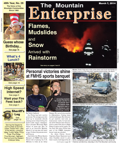 The Mountain Enterprise March 7, 2014 Edition