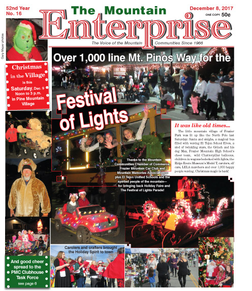 The Mountain Enterprise December 8, 2017 Edition