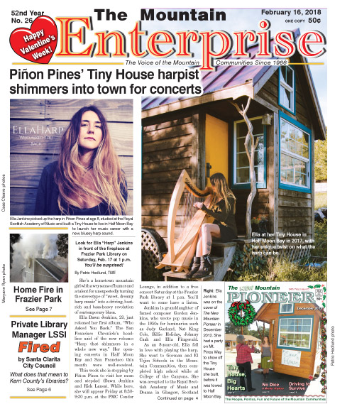 The Mountain Enterprise February 16, 2018 Edition