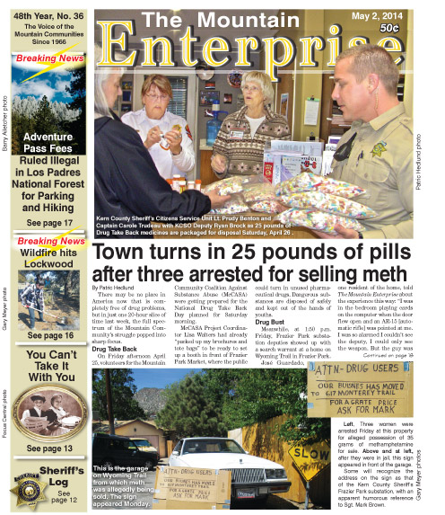 The Mountain Enterprise May 2, 2014 Edition