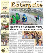 The Mountain Enterprise August 8, 2014 Edition